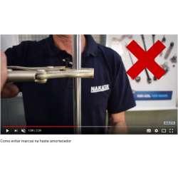 Como evitar marcas na haste amortecedor