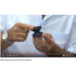 Montagem amortecedor do Honda Fit